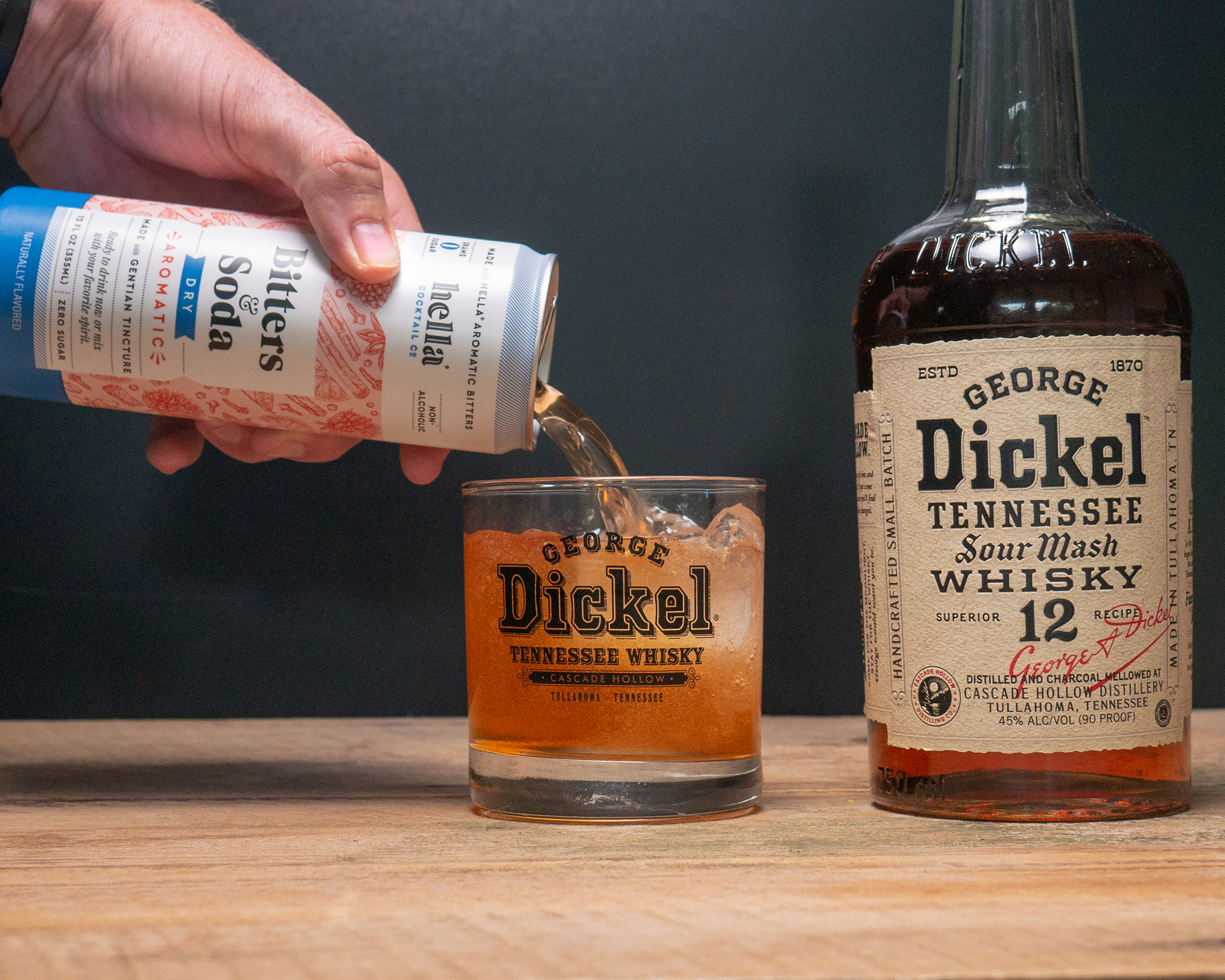 Dickel Ryeball
