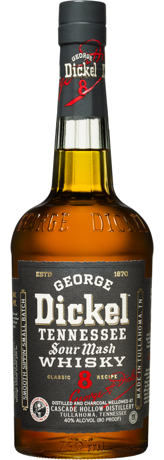 George Dickel Classic Recipe No. 8 Whisky